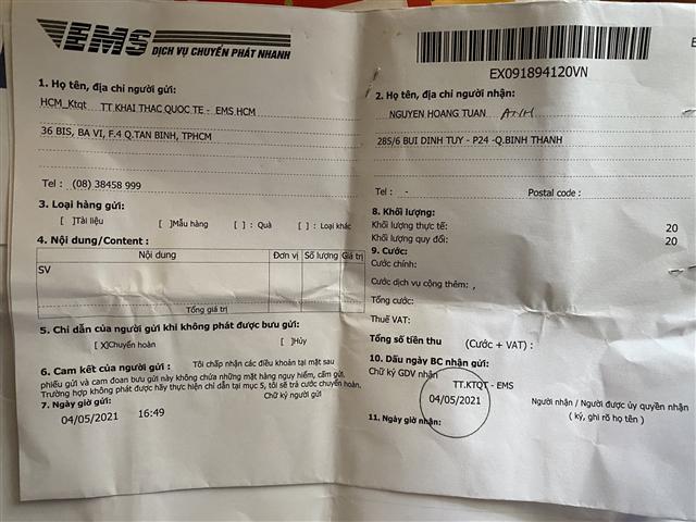 Nhân viên bưu điện tự định giá hàng tăng gấp 3 lần để 'chạc' thuế
