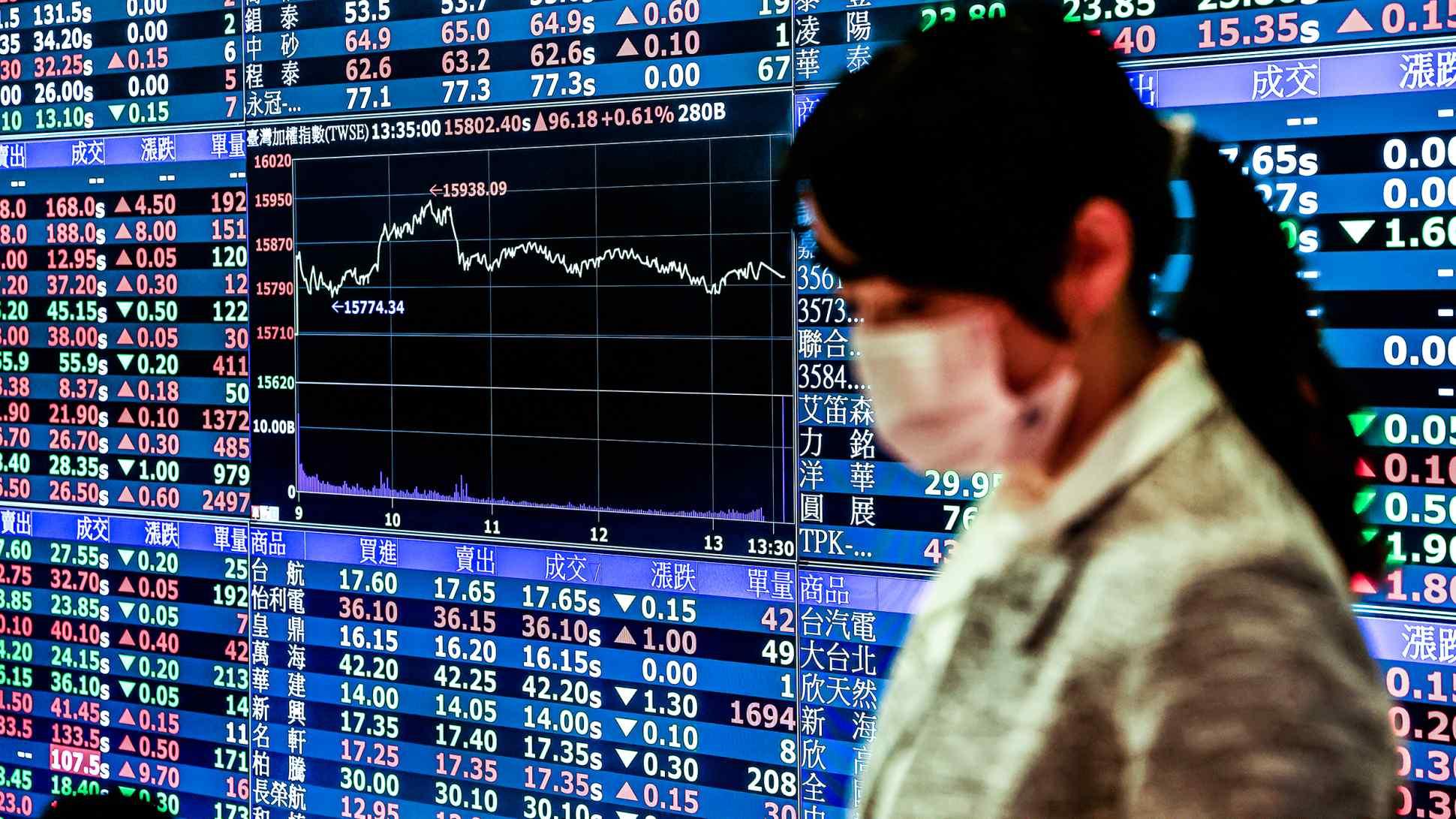 Gần 50% dân số Đài Loan đang đầu tư chứng khoán