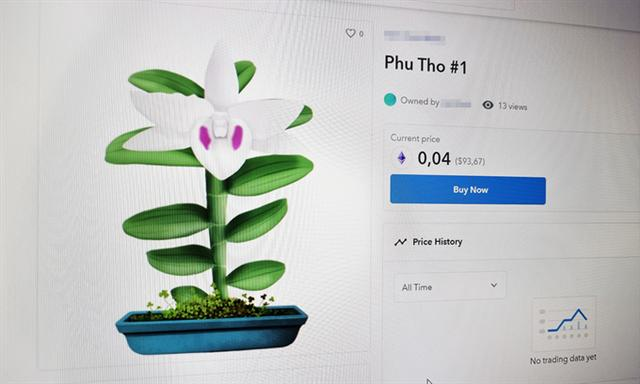 Digital mutant orchids go on sale at cryptocurrency marketplace