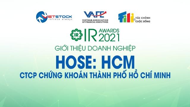 IR AWARDS 2021: Giới thiệu CTCP Chứng khoán Thành Phố Hồ Chí Minh (HOSE: HCM)