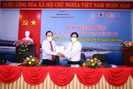 C47 ký hợp đồng gói thầu công trình - dự án Đập dâng Phú Phong