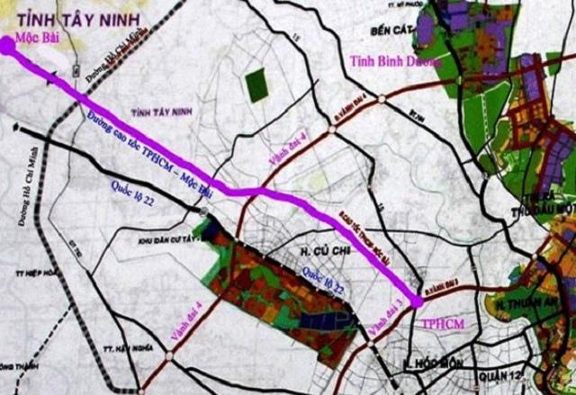UBND TP.HCM đề xuất xây dựng dự án cao tốc TP.HCM - Mộc Bài